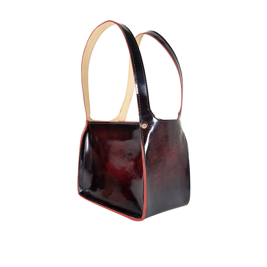 Jane Tote by Orox Leather Co. Ruby