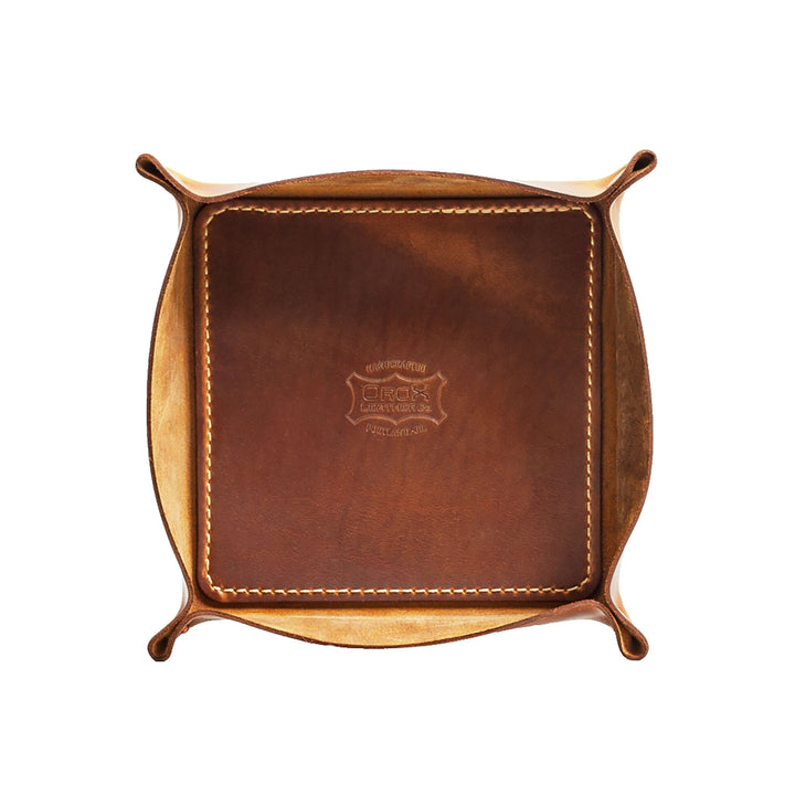 Leather Tray by Orox Leather Co.