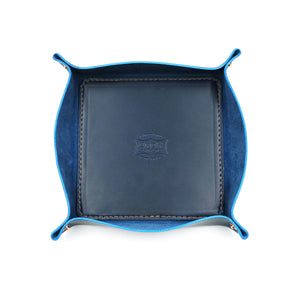 Sapphire Leather Tray (MadeHere Exclusive) by Orox Leather Co.