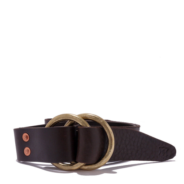 "1 1/2"" Double Ring Belt by Orox Leather Co."