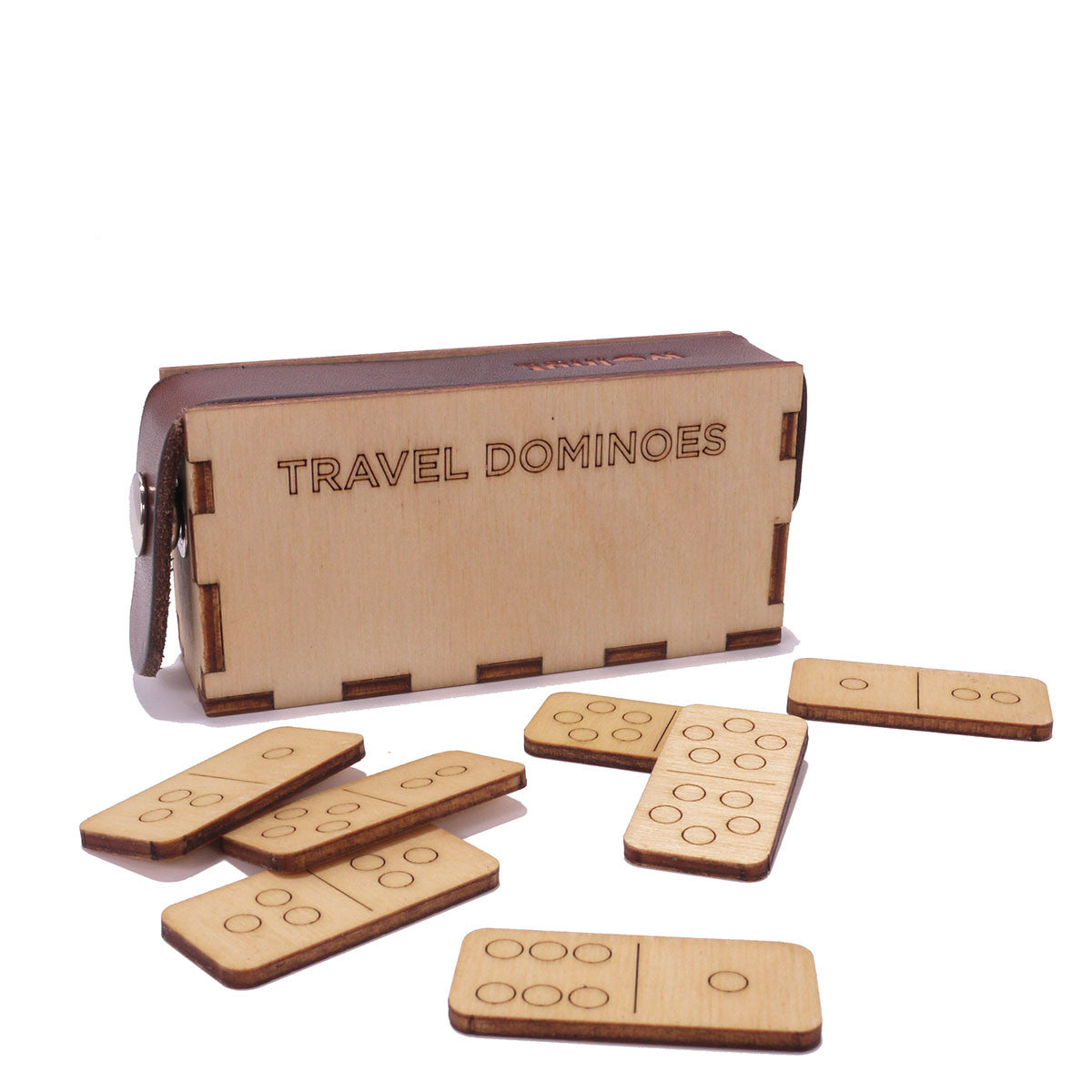 Travel Dominoes by Walnut Studiolo