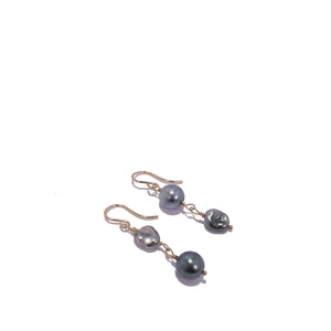 Upside Down Keshi Dangle Earrings