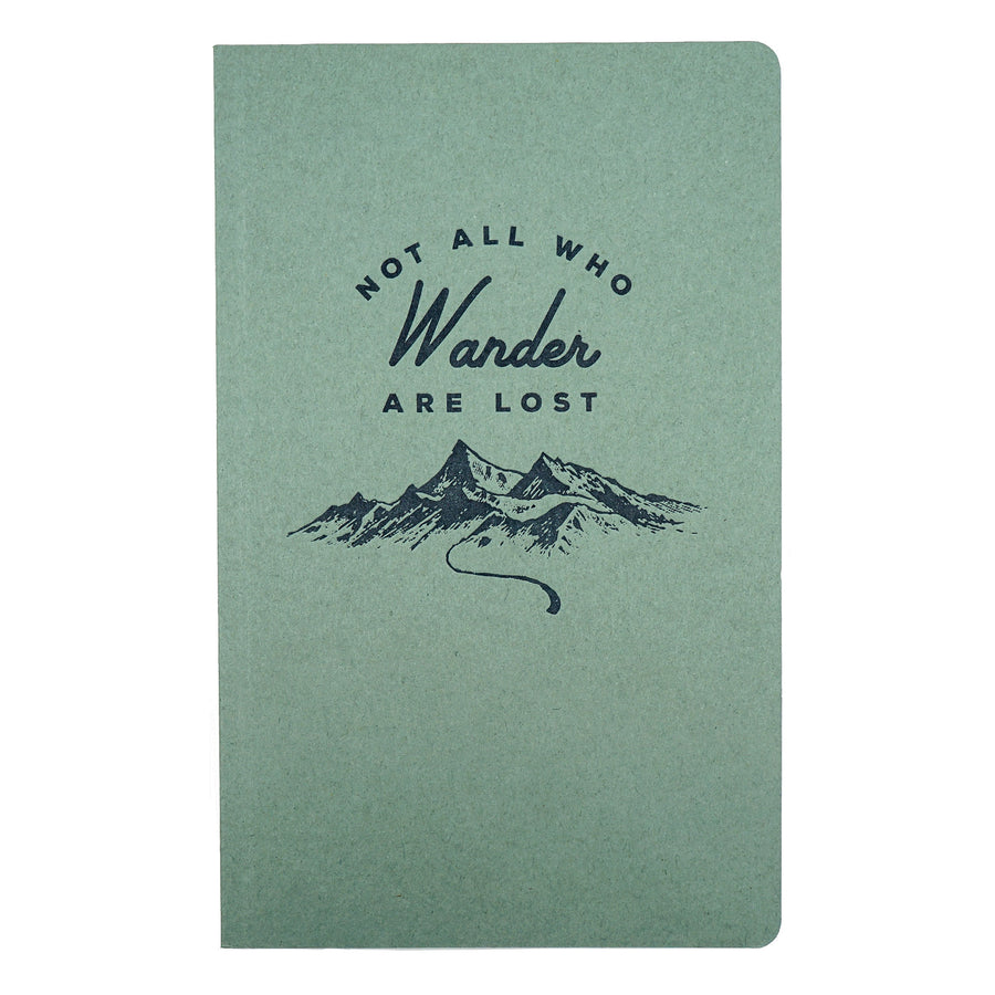 Wander Large Notebook