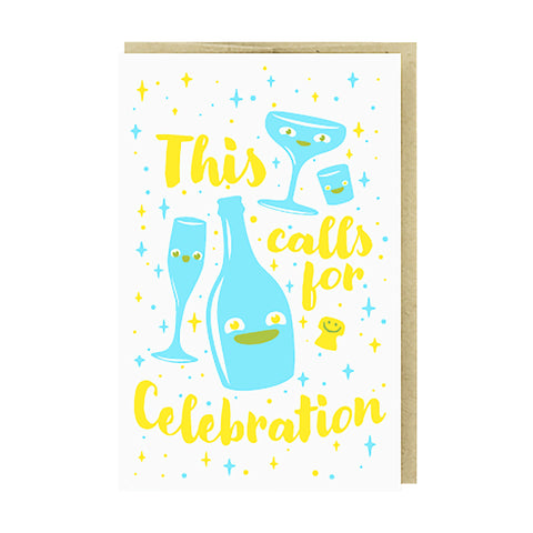 Calls for Celebration Card