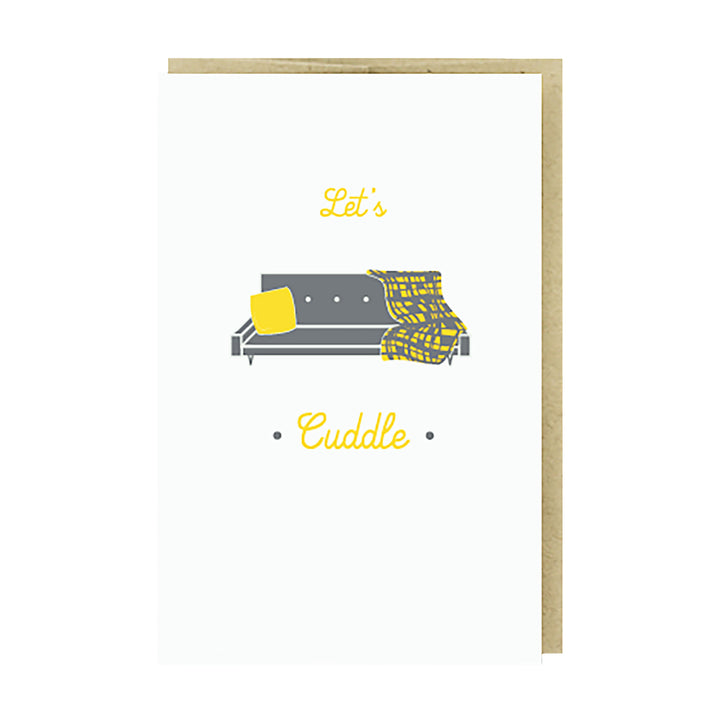 Cuddle Couch Card by Pike Street Press