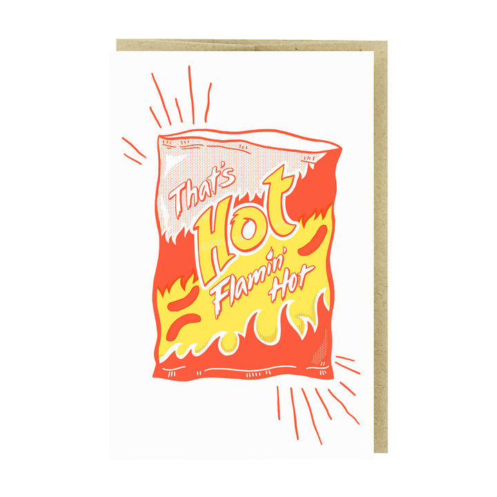 Flamin Hot Card by Pike Street Press