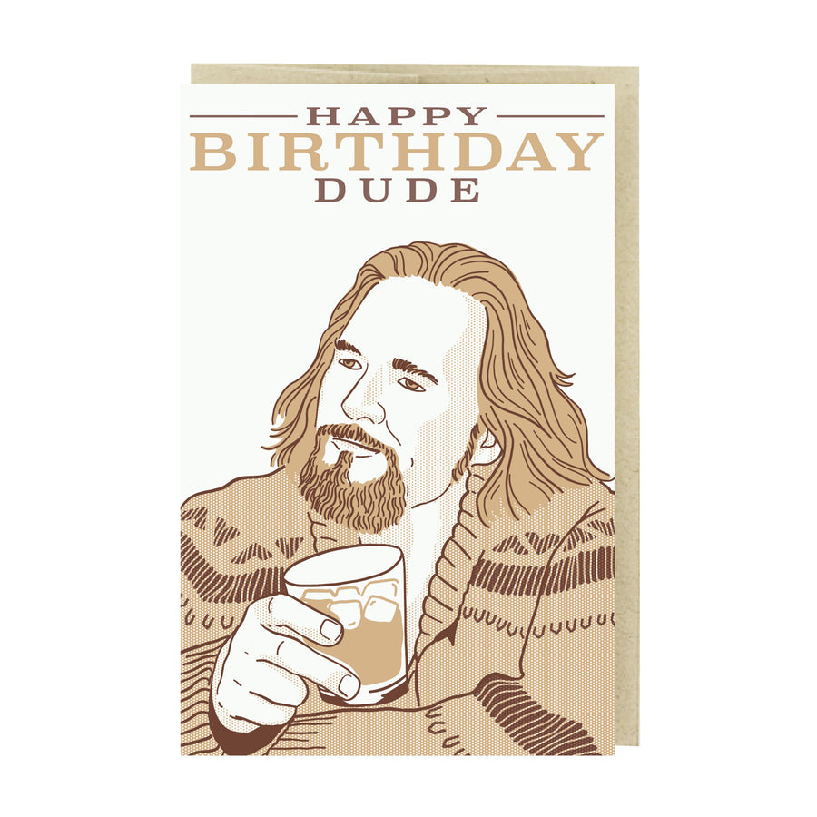 Happy Birthday Dude Card by Pike Street Press