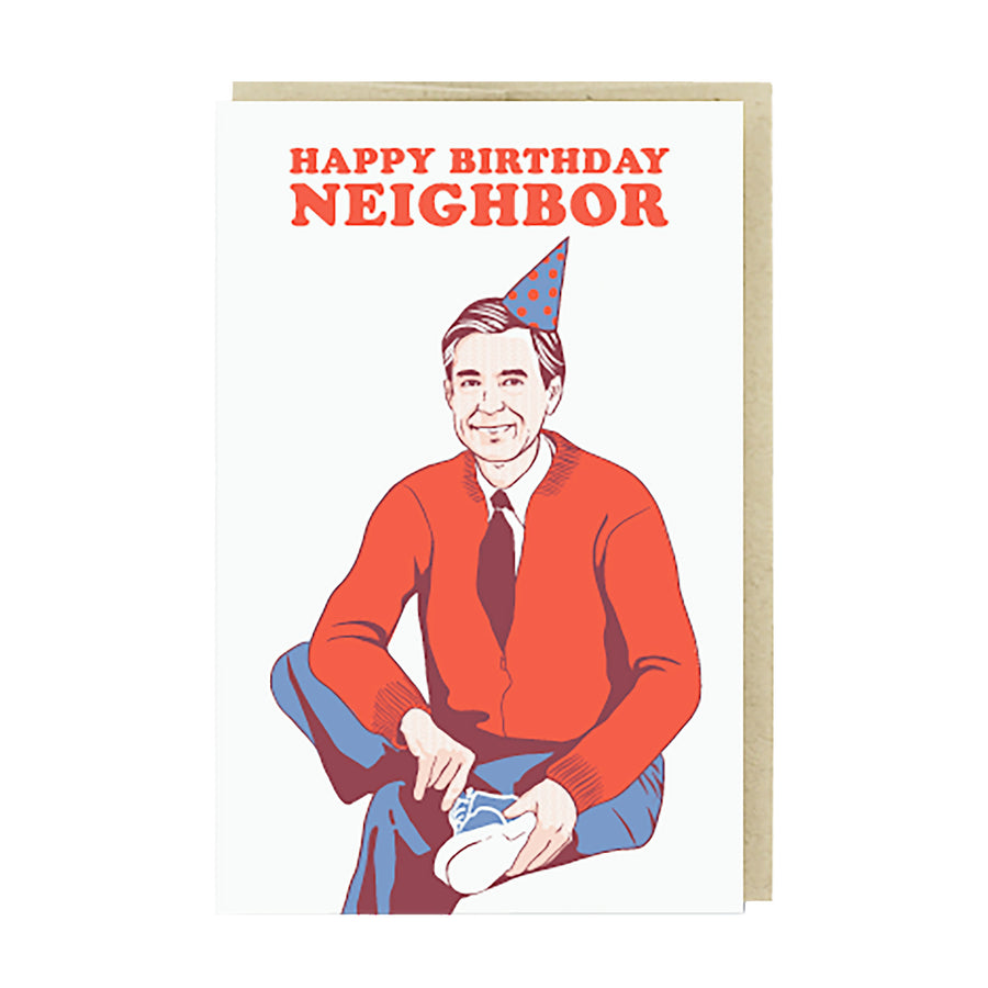 Happy Birthday Neighbor Card by Pike Street Press