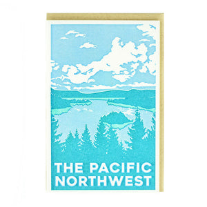 The Pacific Halftone Card by Pike Street Press