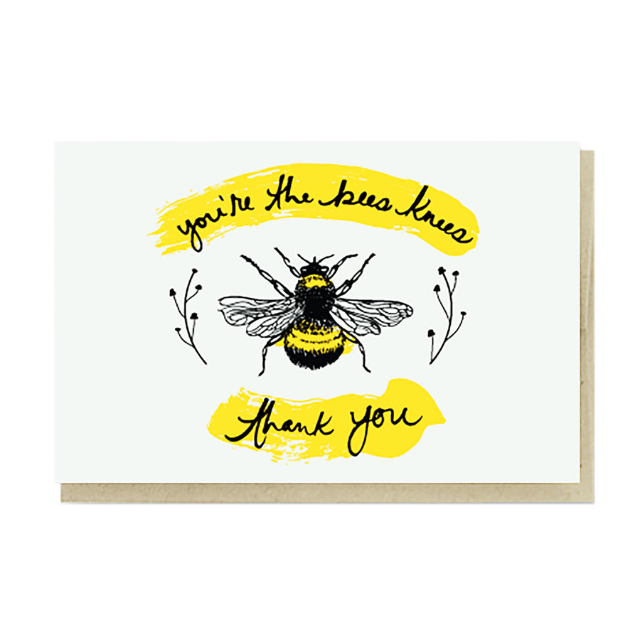 Bee's Knees Card by Pike Street Press