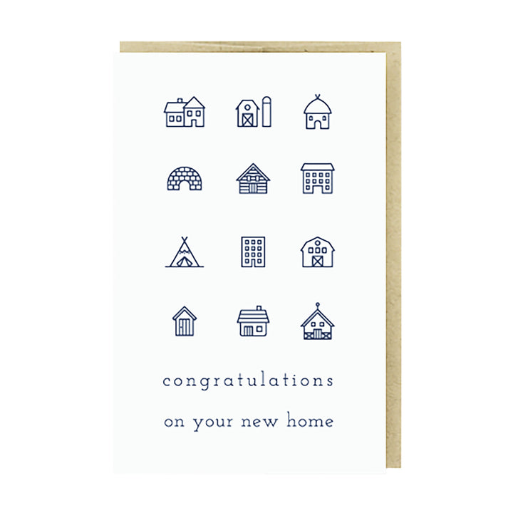 Congrats New Home Card by Pike Street Press