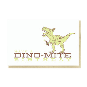 Dino-Mite Card by Pike Street Press