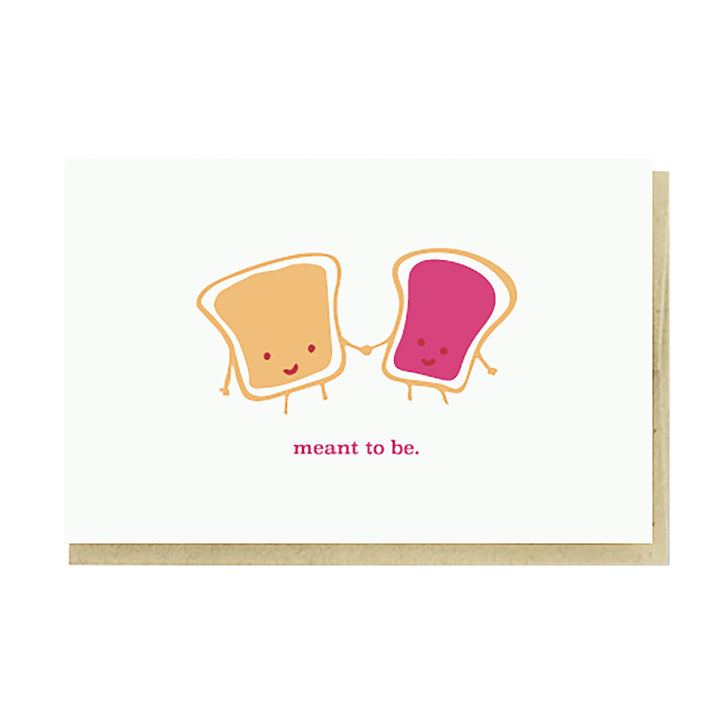 Meant to Be PB & J Card by Pike Street Press