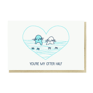 My Otter Half Card by Pike Street Press