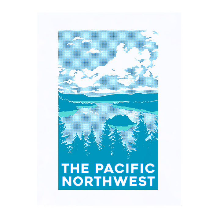 PNW Water Scape Large Print by Pike Street Press