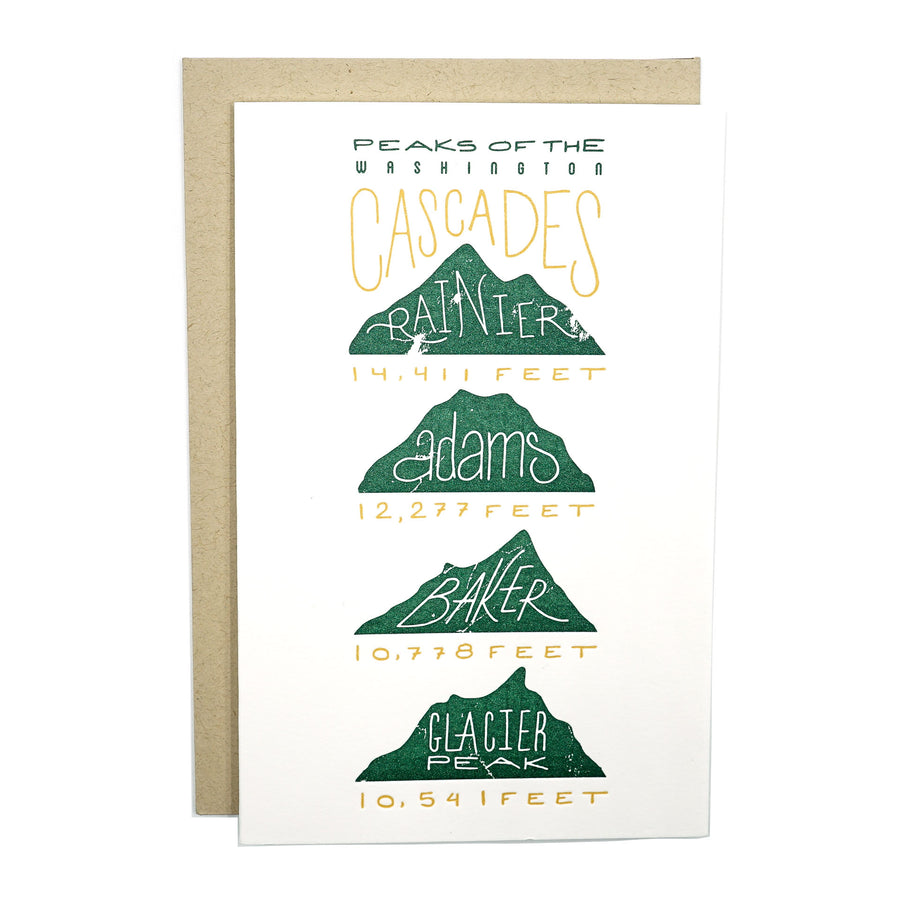Peaks of the Cascade Mt. Card