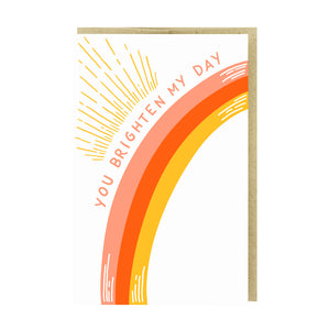 You Brighten My Day Card by Pike Street Press