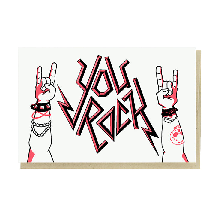 You Rock Card by Pike Street Press