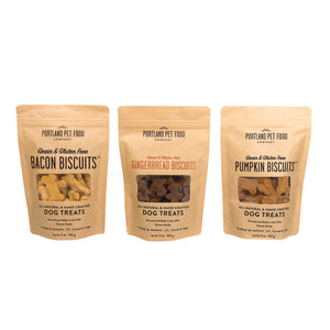 Grain & Gluten-Free Biscuit Dog Treats