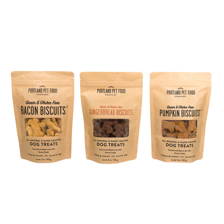 Grain & Gluten-Free Biscuit Dog Treats Portland Pet Food Company