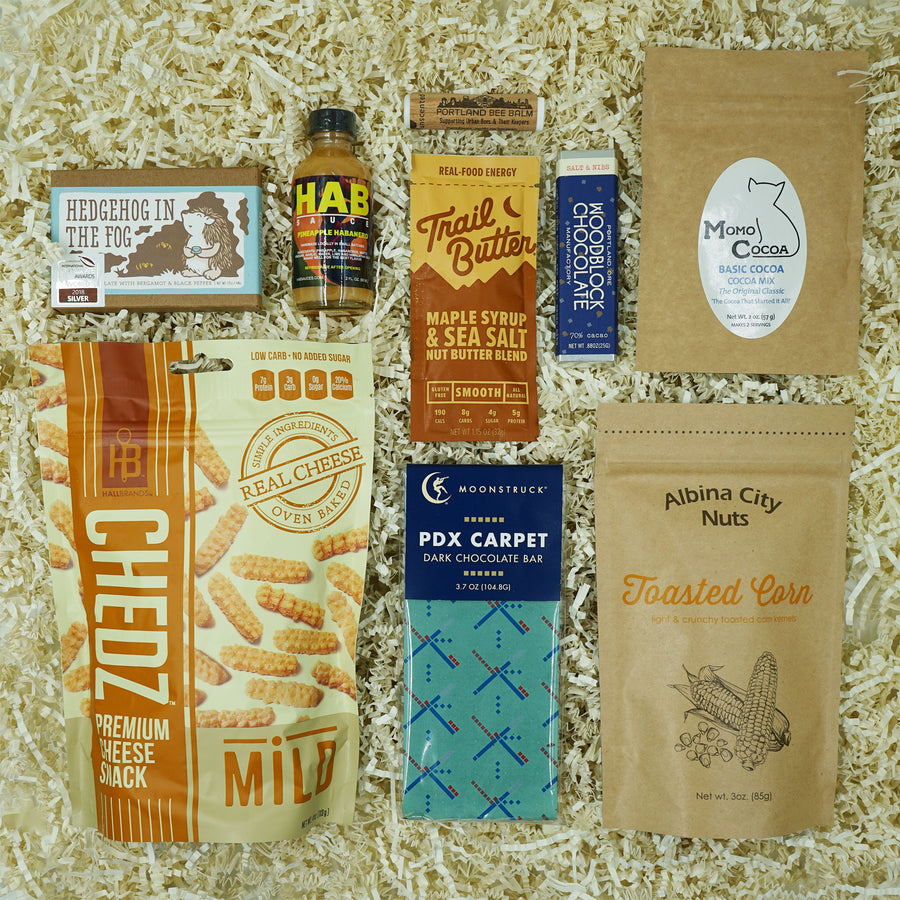 Portland Locally Made Snack Pack Gift Box by MadeHere