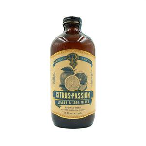 Citrus Passion 16oz Syrup by Portland Syrups