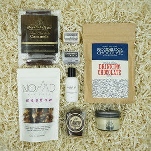 Portland Locally Made Treat Yourself Gift Box by MadeHere