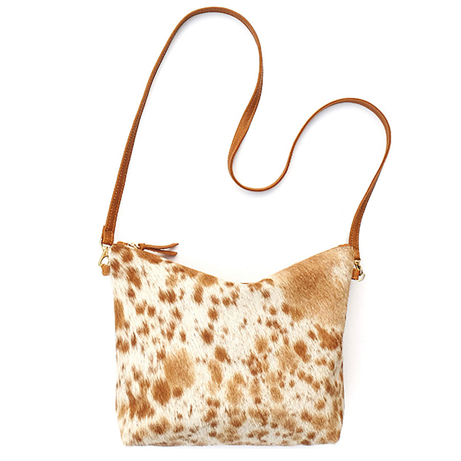 Mini Hobo Purse Primecut Caramel Speckle