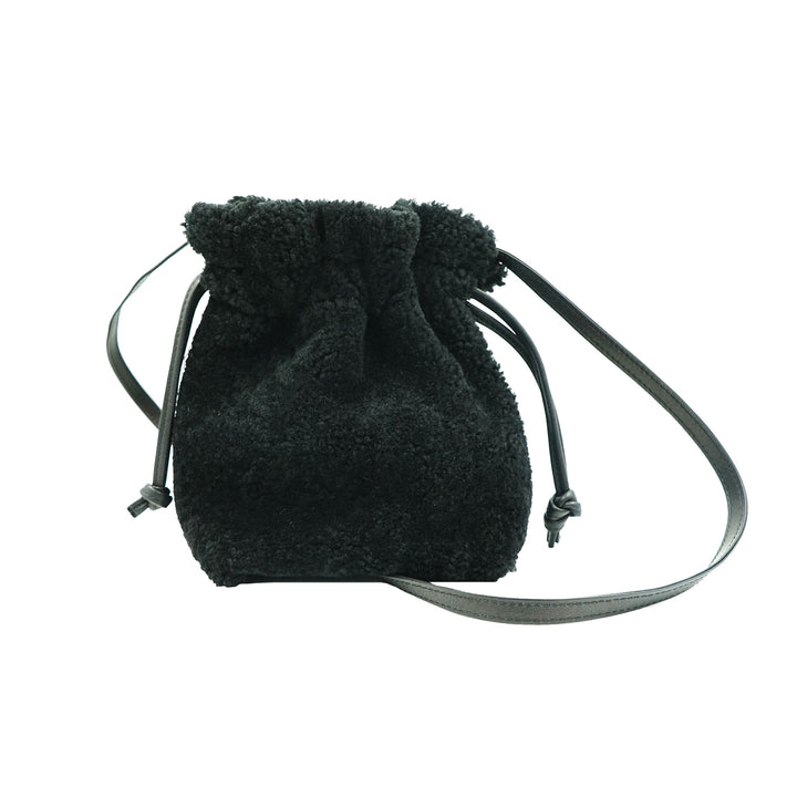 Snack Sack by Primecut Black Shearling