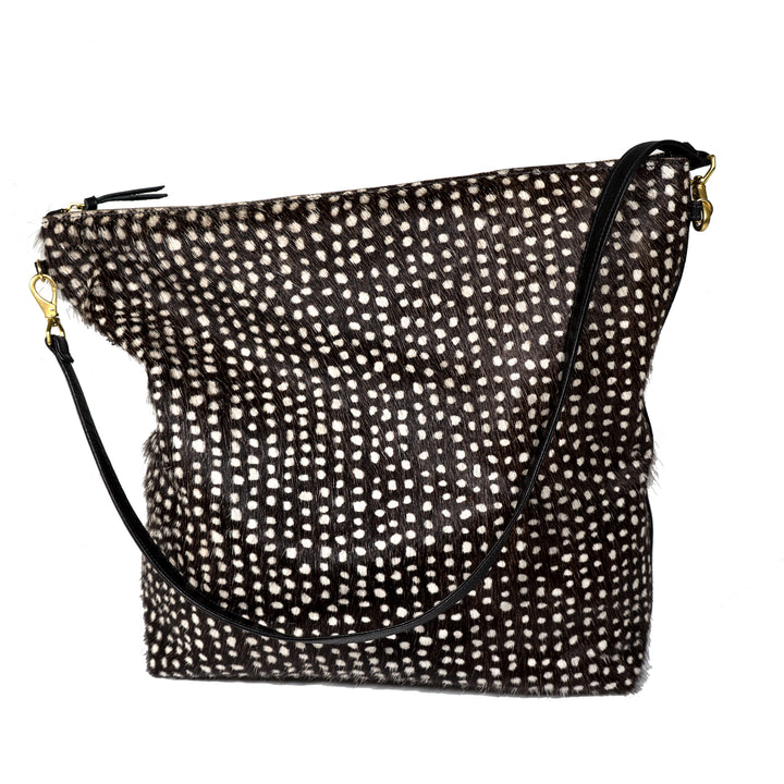 Dots Cowhide Hobo by Primecut