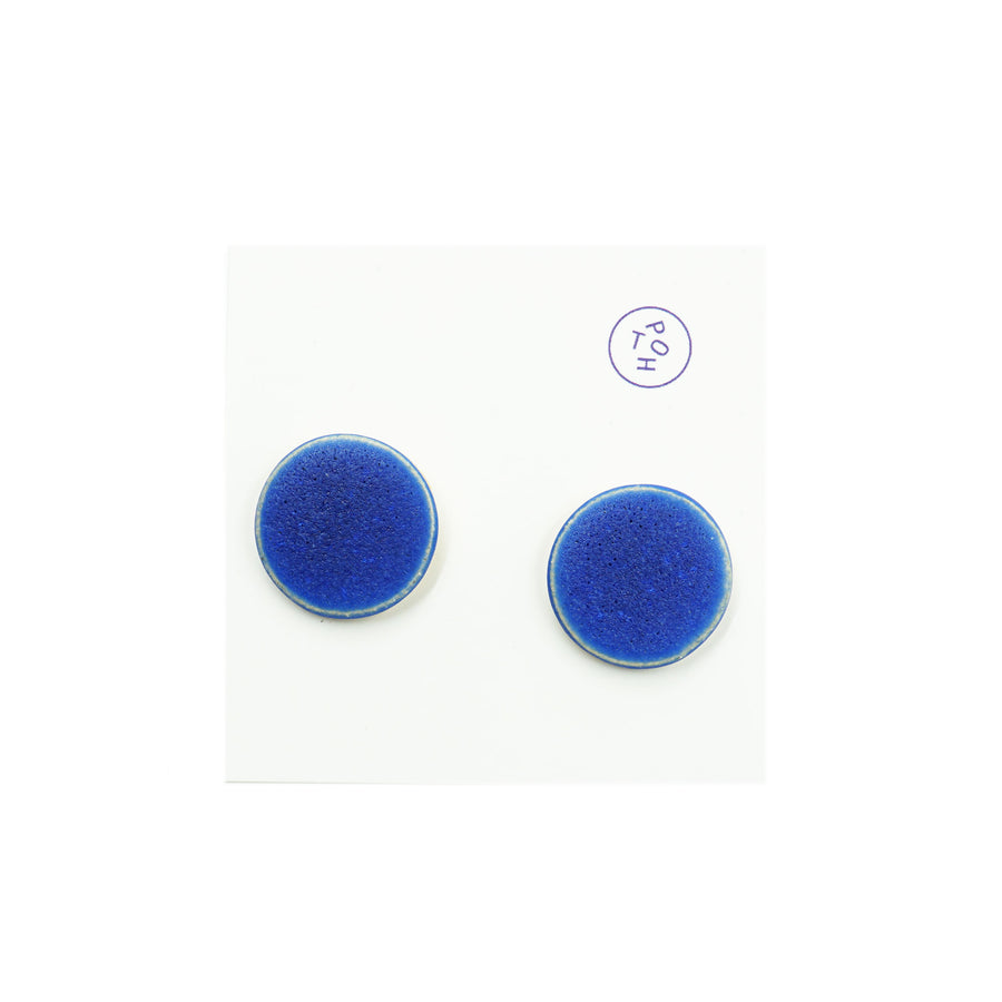 Flat Disc Earrings by The Pursuits of Happiness