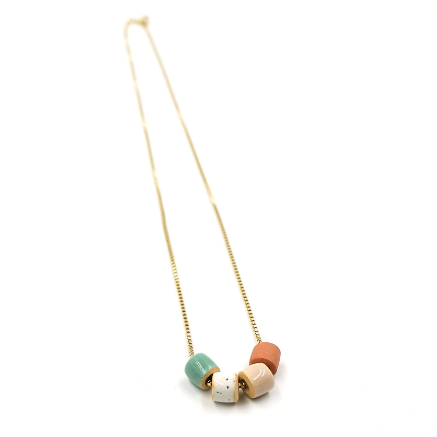 Tiny Bead Necklace by The Pursuits of Happiness