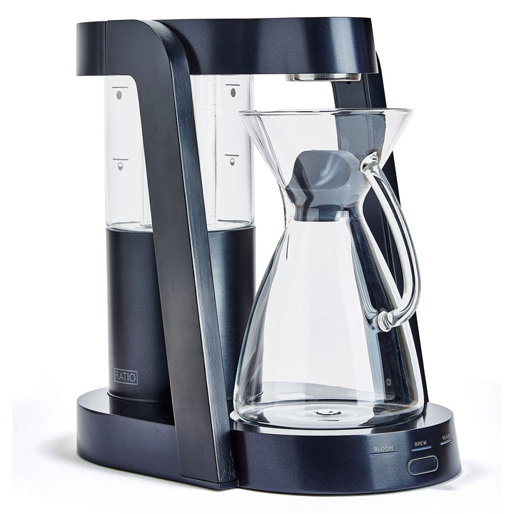 Ratio 8 Coffee Maker Dark Colbalt Ebonized