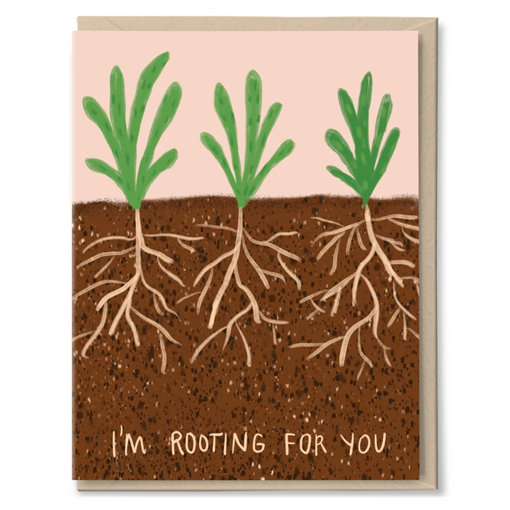 Rooting For You Card by Tigerpocket Press
