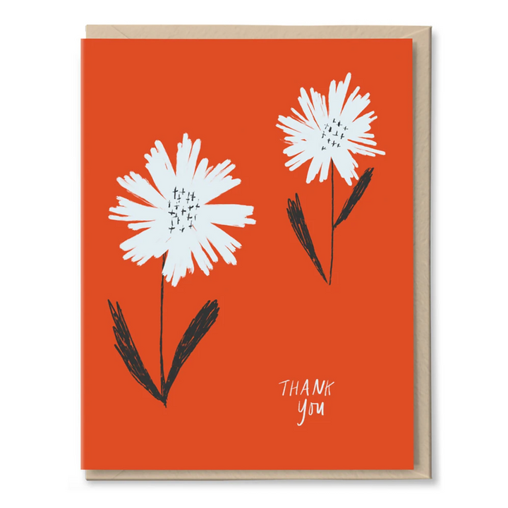 Two Daisies Card by Tigerpocket Press