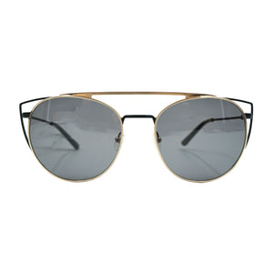 Zena Gold Obsidian Sunglasses by Shwood