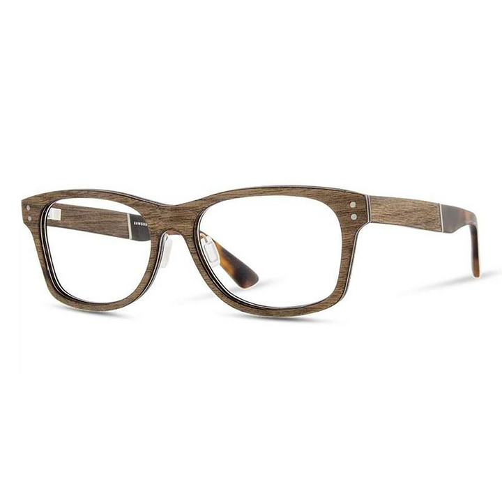 Cannon Wood Eyeglasses by Shwood