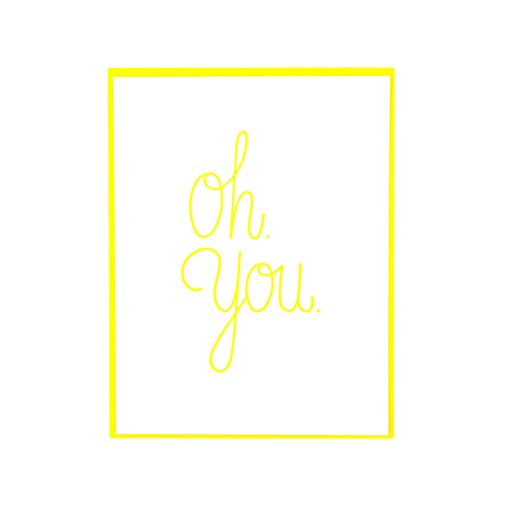 Oh You Card by Sparkle Press
