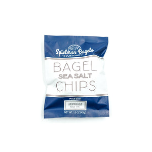 Sea Salt Bagel Chips by Spielman