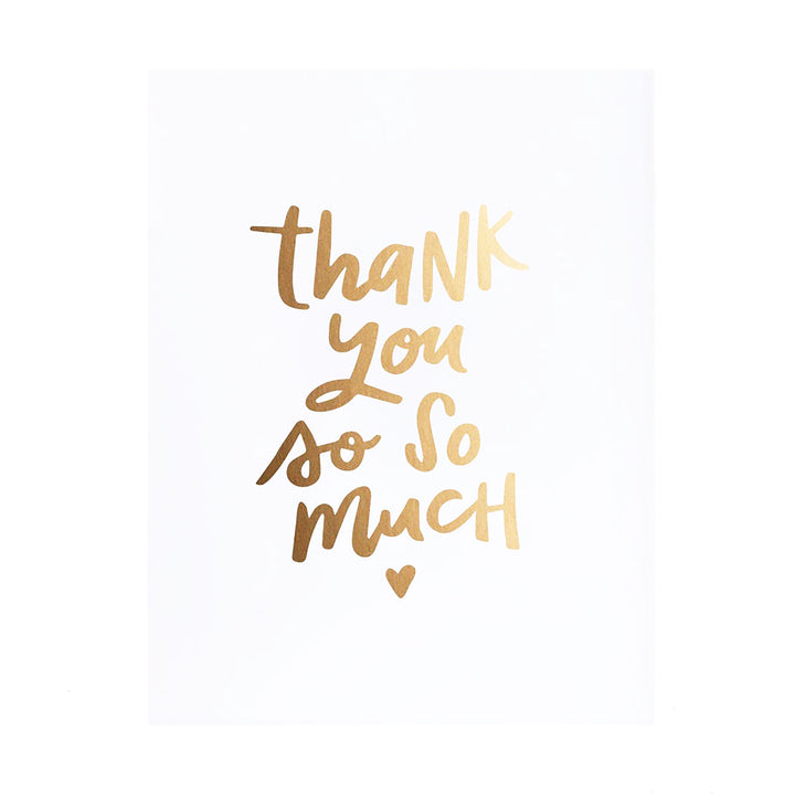 Thank You Card by Stefi Mar