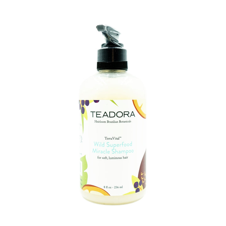 Wild Superfood Miracle Shampoo by Teadora