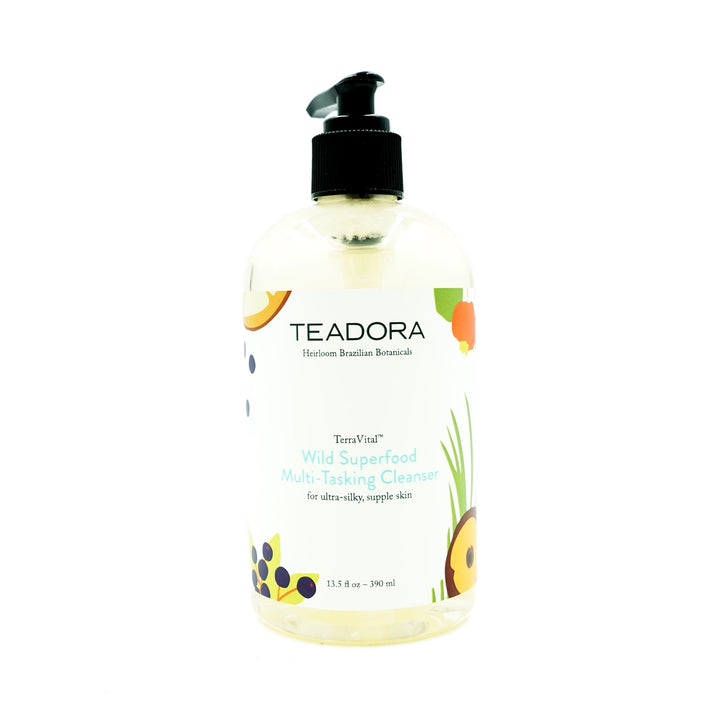 13.5oz Wild Superfood Multi-tasking Cleanser by Teadora