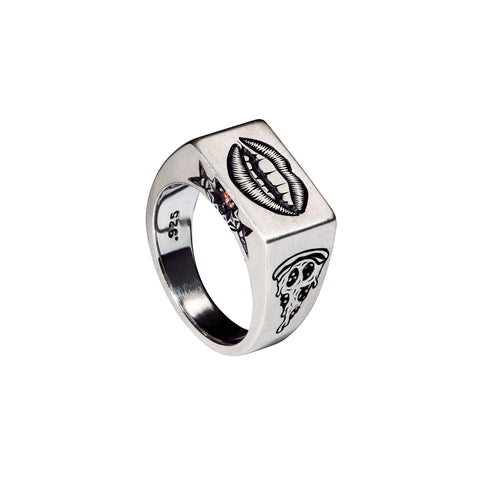 Taste 5 Senses Signet Ring