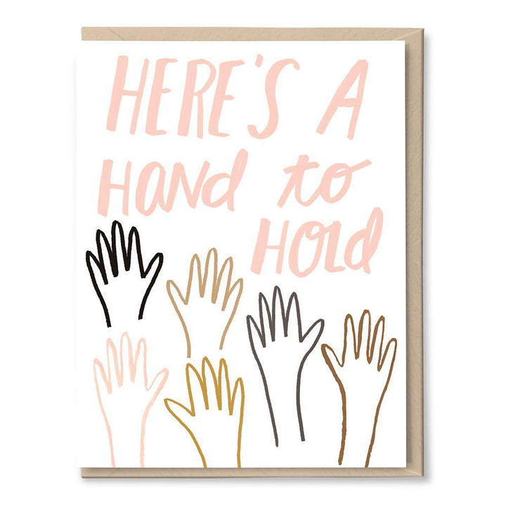 Hand to Hold Card by Tigerpocket Press