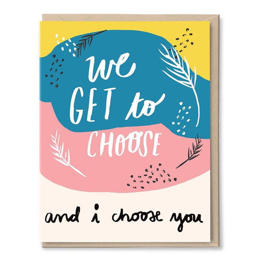I Choose You Card by Tigerpocket Press