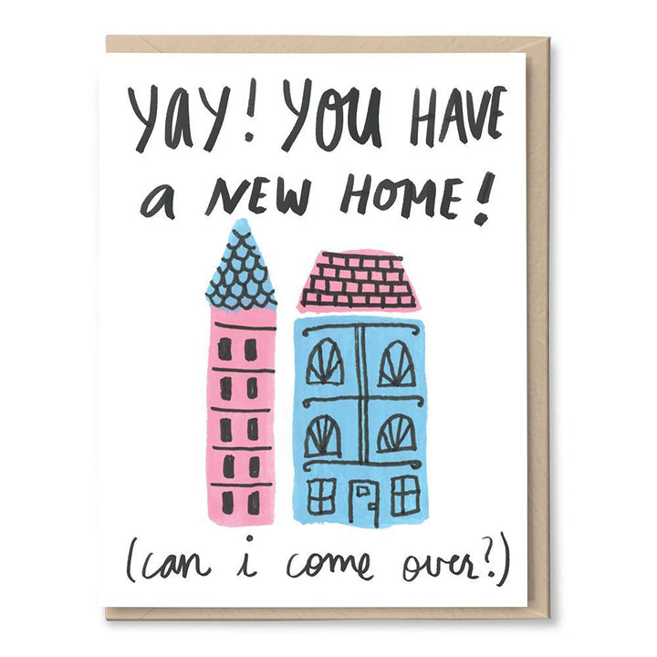 Yay New Home Card by Tigerpocket Press