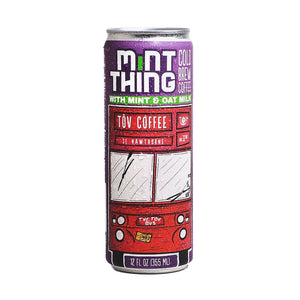 Mint Thing 12oz can by Tov Coffee