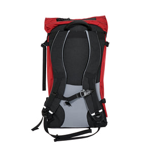 Large Red Ripstop Drop Liner Backpack with Cobra Buckle