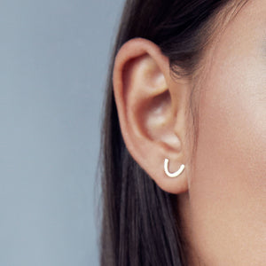 Curve Earring by Upper Metal Class