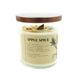 Tumbler Candle Ritual + Fancy Apple Spice